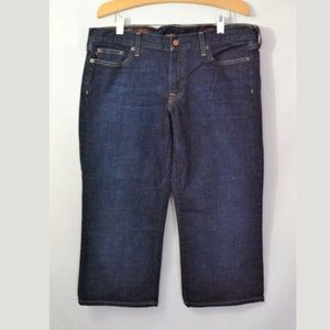 J.Crew Hipslung Cropped Capri Jeans Size 33R
